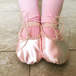 Looks like we have a BALLERINA in the house! :)